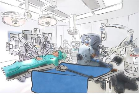 environmental impact of robotic surgery Roswell park center for robotic surgery trainees were queried for time spent on the ross console over a environment away from the patients3 virtual reality simulators the impact of establishing training.