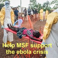 Help MSF support the ebola crisis
